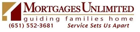 Mortgages Unlimited. St Paul, Bloomington, Minneapolis, Rochester, Eagan, Bloomington