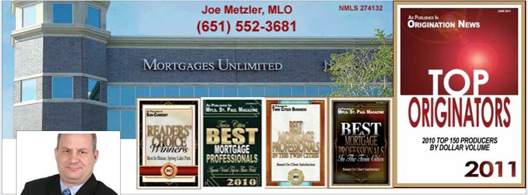 Mortgages Unlimited, St Paul, MN - Awards
